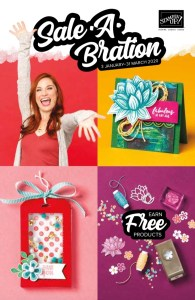 Stampin' Up! 2020 Sale-A-Bration Brochure. Earn Free Cardmaking and Papercraft Products Online from Mitosu Crafts
