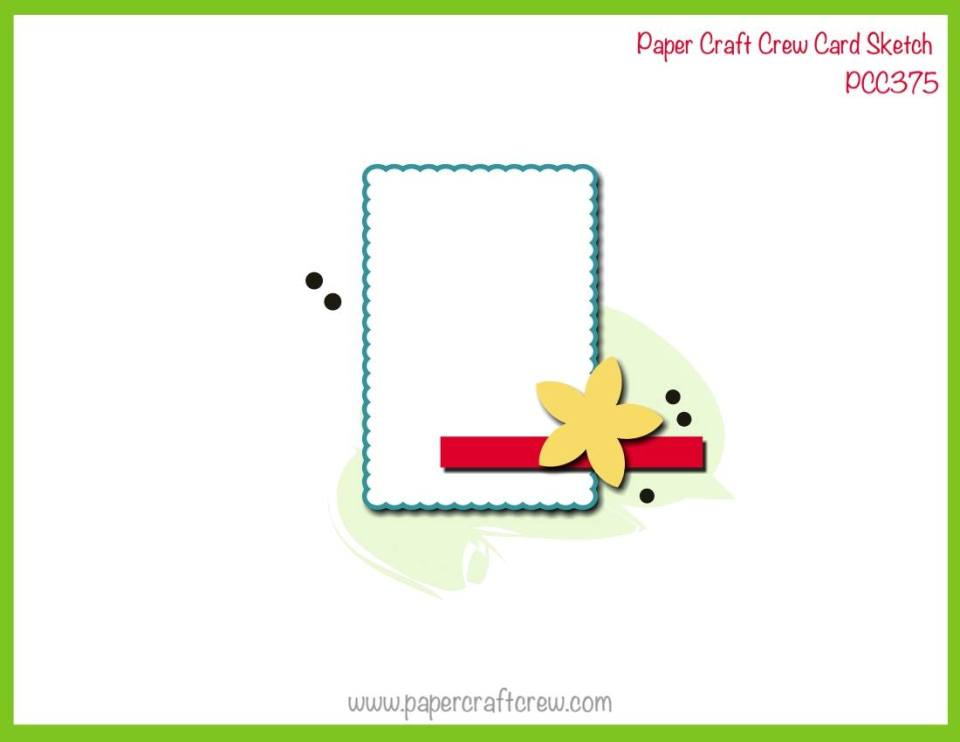 Paper Craft Crew Card Sketch Challenge #PCC375 Inspiration from Mitosu Crafts UK