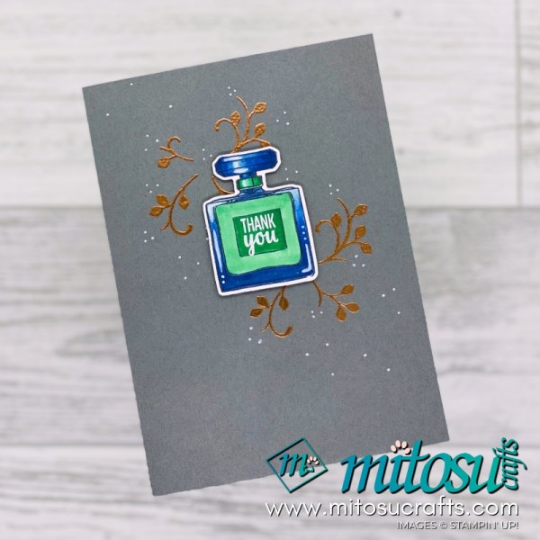 Stampin Up Dressed To Impress Card Idea for Stamp Review Crew. Order cardmaking products online from Mitosu Crafts UK