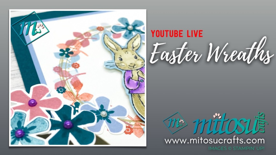 Thoughtful Blooms with Fable Friends Easter Wreath Papercraft Ideas from Mitosu Crafts UK