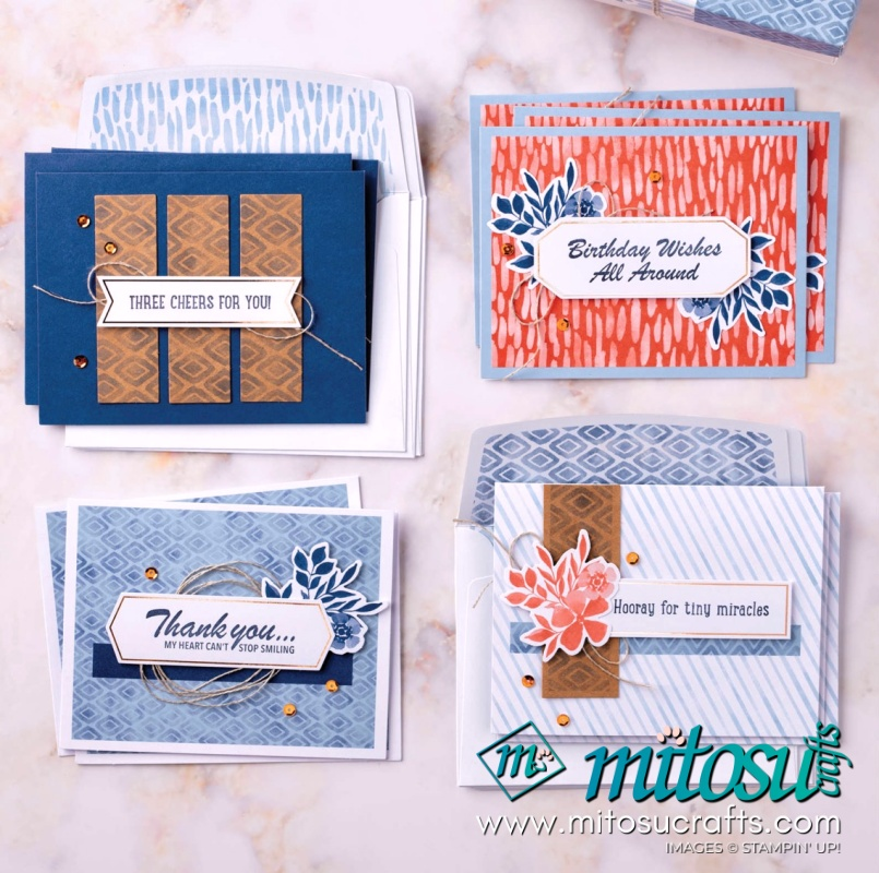 Three Cheers For You Card Kit from Mitosu Crafts