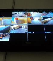 Hasil Gambar Monitor cctv