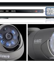 Paket Ipcam 4 Channel 1 MP ( Geip-3101, Geip-3100 )