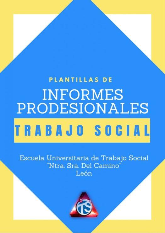 TRABAJO SOCIAL MODELOS DE INFORMES PROFESIONALES
