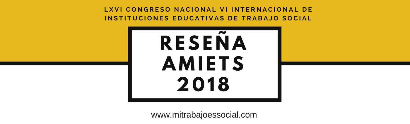 LXVI Congreso Nacional VI Internacional de Instituciones Educativas de Trabajo Social