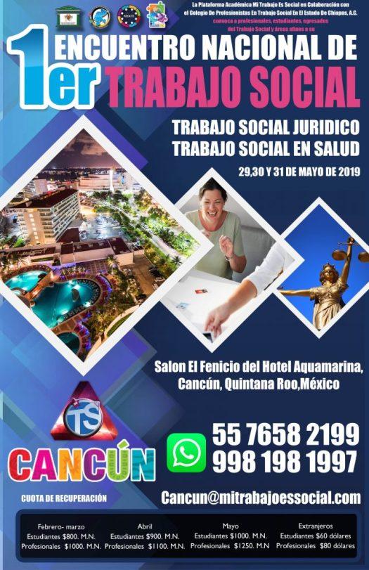 ENCUENTRO NACIONAL DE TRABAJO SOCIAL