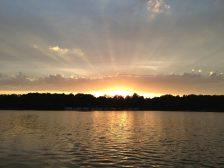 Sonnenuntergang am Scharmützelsee