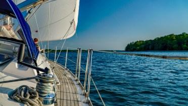 Sunset-Sailing auf dem Scharmützelsee