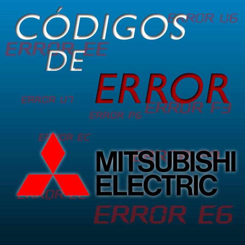 Códigos de errores de Mitsubishi Electric
