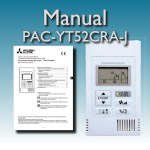 Manual termostato PAC-YT52CRA-J