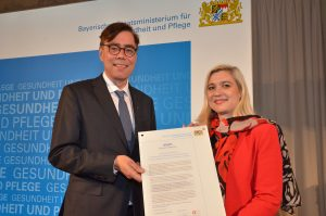 Mitgliedsurkunde Bündnis für Prävention