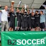 42 Mannschaften beim Finale der B2SOCCER Saison