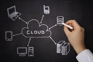 Der Arbeitsplatz der Zukunft liegt in der Cloud: Doch viele Unternehmen sind darauf noch nicht vorbereitet (Foto: Triumph Adler / Fotalia)