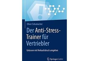 Buchcover anti stress trainer