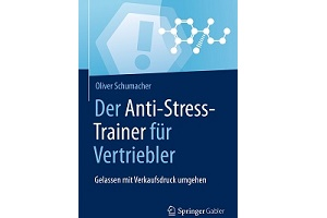 Buchcover anti stress trainer