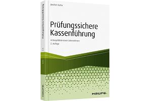 Prüfungssichere Kassenführung Buch Cover