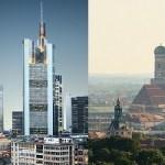 Stärken und Schwächen der beiden Finanzplätze Bayern und Frankfurt