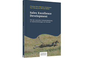 Sales Excellence Development Buch Cover