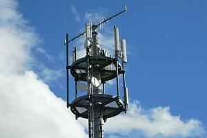 Mobilfunkzentrum Antenne Foto