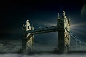 No-Deal Brexit Tower Bridge Foto