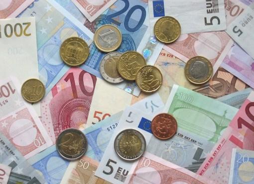 Finanzierungslage Euro Bargeld Foto