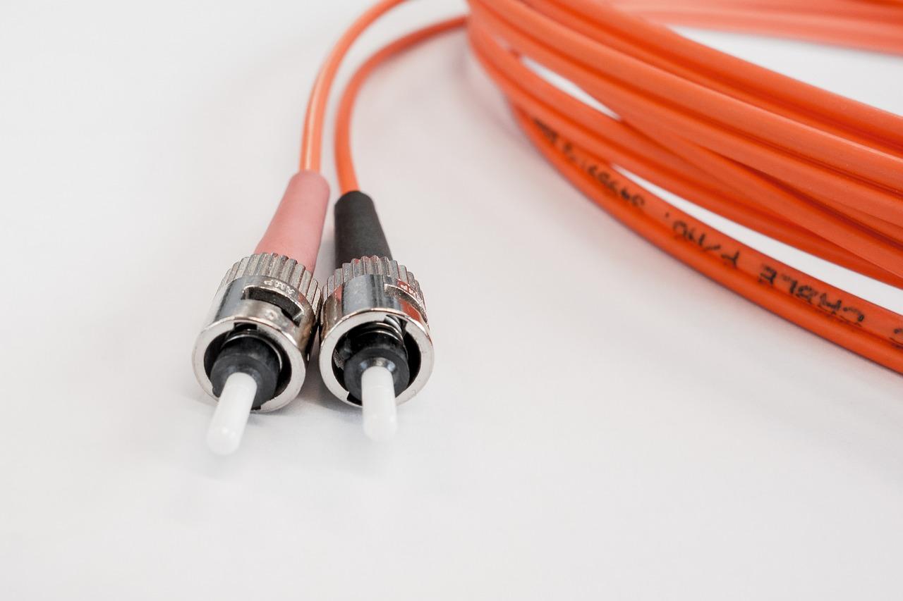 Glasfaserausbau Kabel Foto