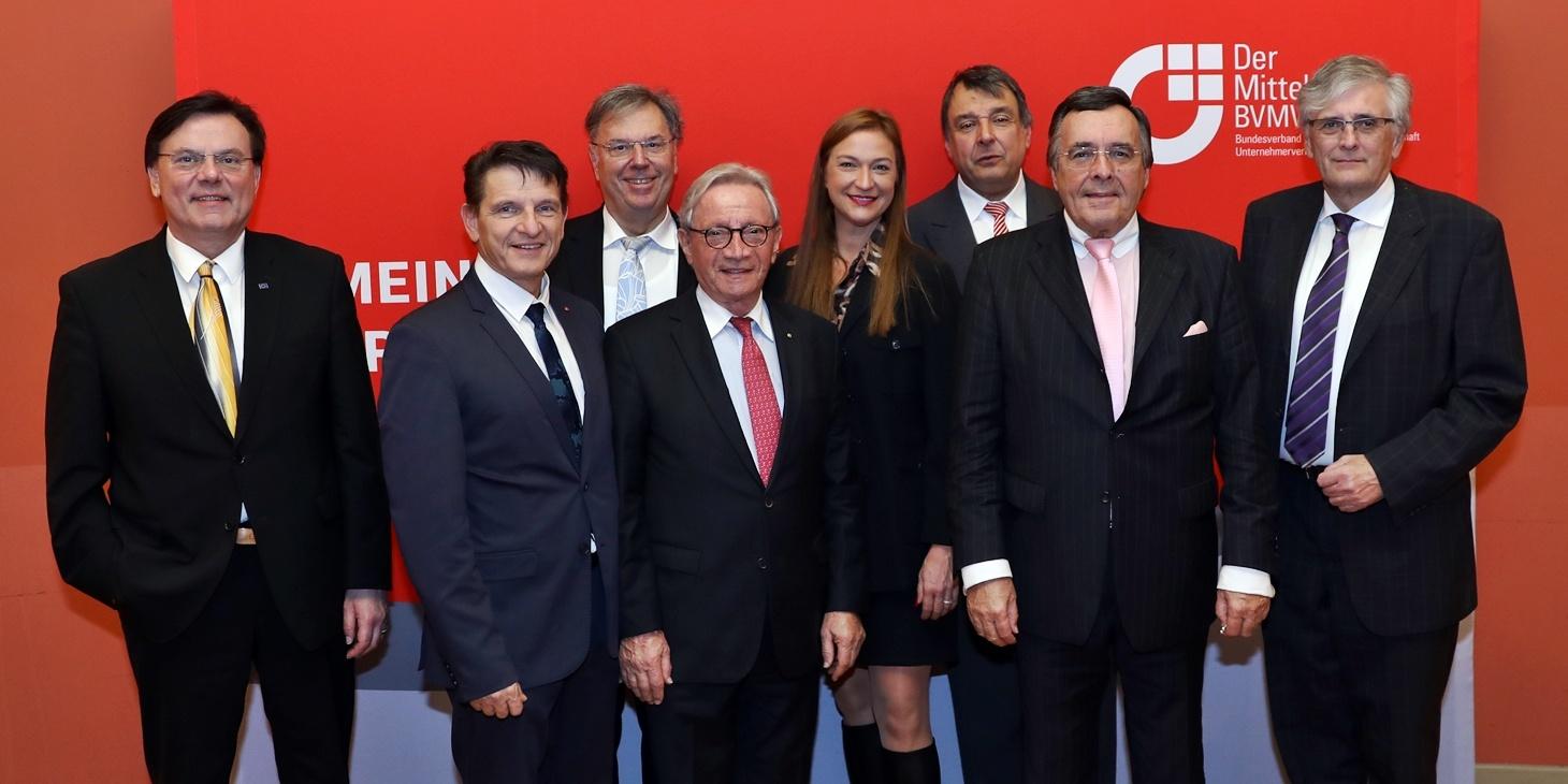 Bundesverband mittelständische Wirtschaft (BVMW) hat Mario Ohoven wiedergewählt