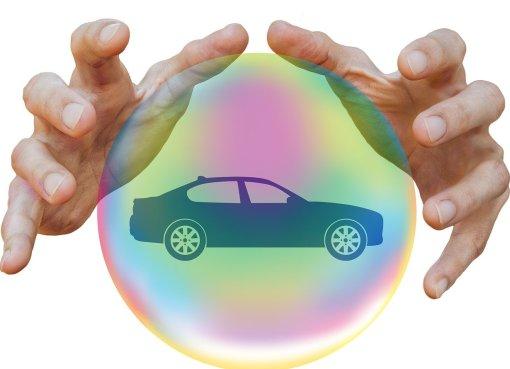 Versicherung für das eigene Auto.