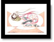 Embryo mit Flügeln (David Dott) Künstler: David Dott