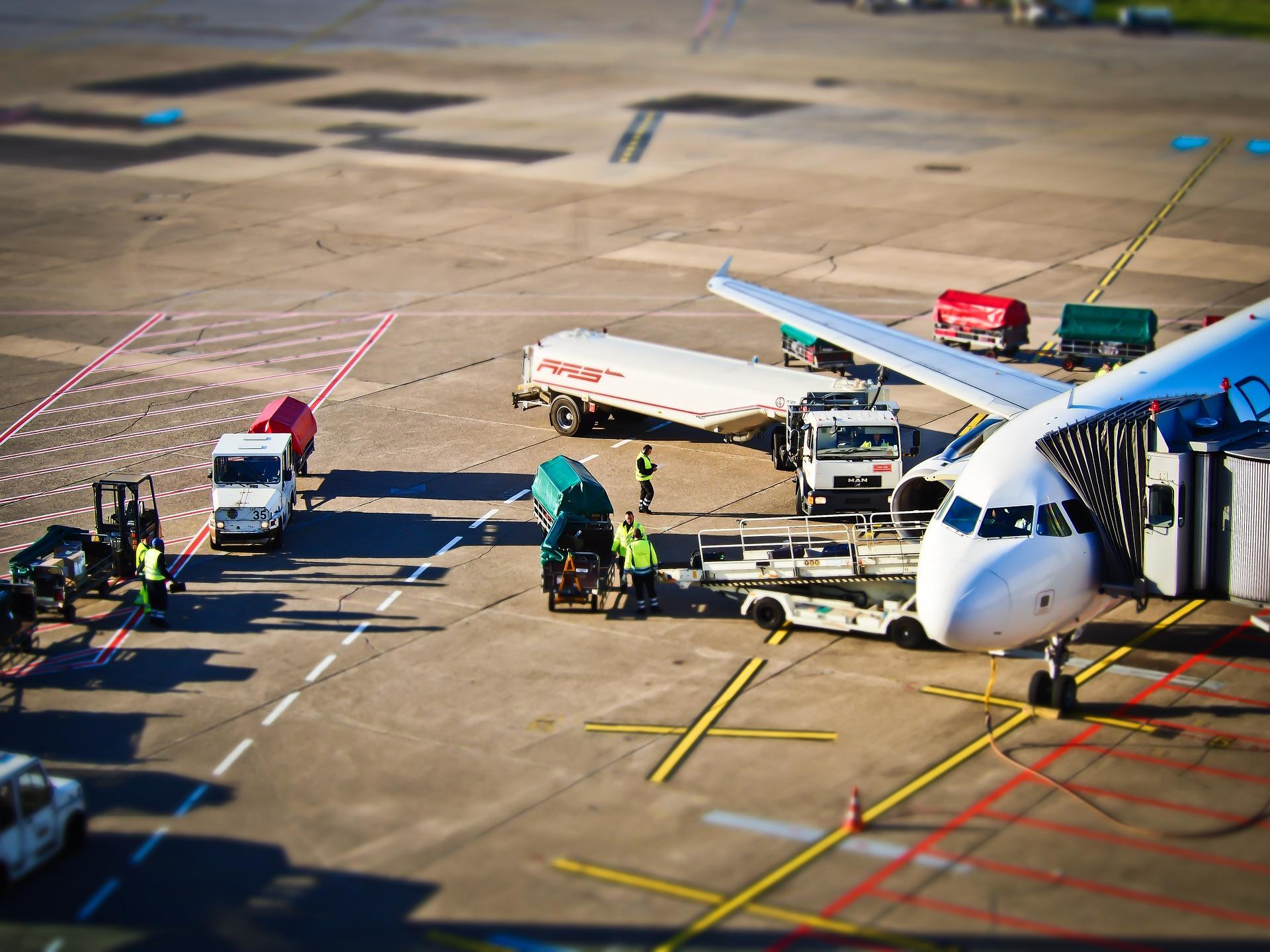 Geschäftsreisen Flughafen Foto