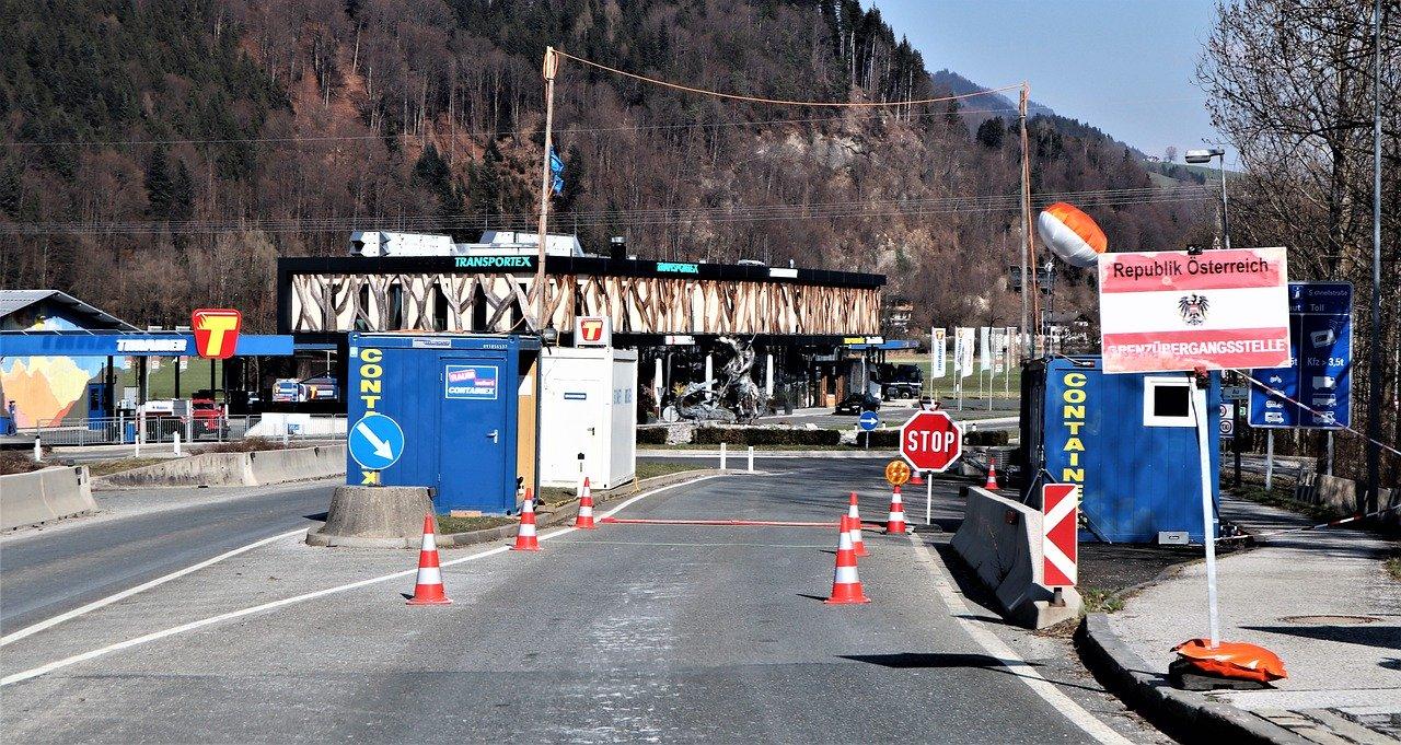 Grenzöffnungen Bayern Österreich Foto