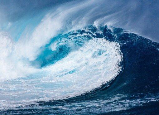 Blue ocean Strategie Foto Ozean