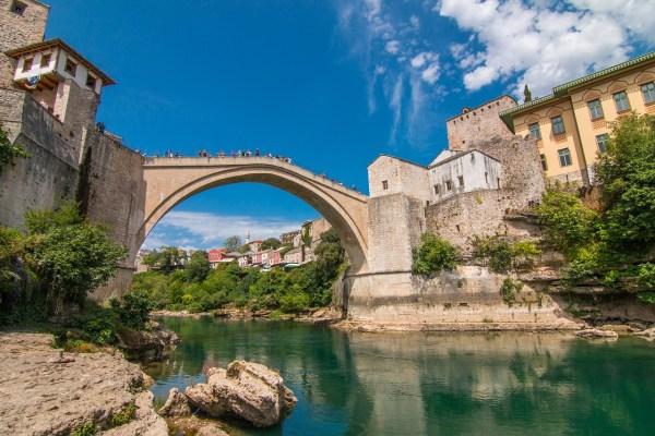Westbalkan Bosnien Foto Mostar