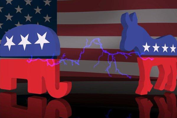 Präsidentschaftswahl USA Foto