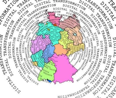 Digitalisierung Deutschland Süddeutschland Studie Foto