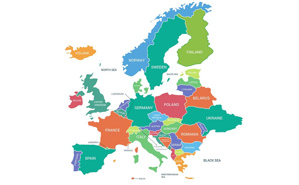 Europa Standortranking Foto