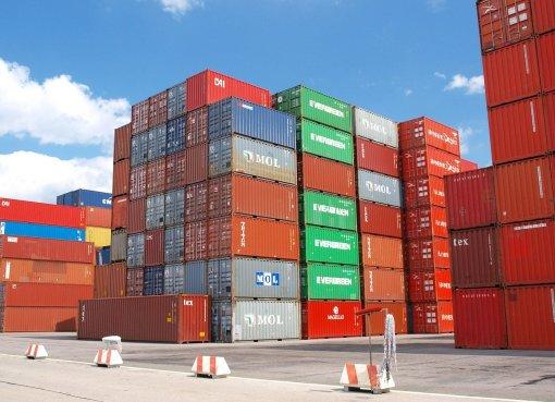 Frachtkosten Container Foto