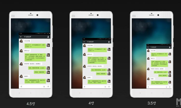 MIUI 6 Xiaomi Mi Note