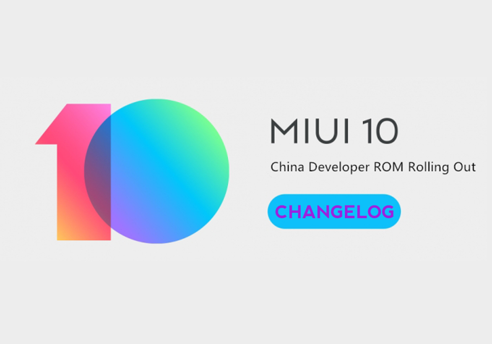 Rilasciata MIUI 9.1.10 China Developer, changelog integrale