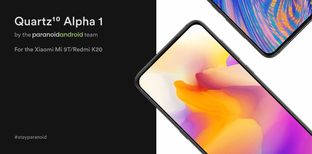 Paranoid Android Android 10 Xiaomi Mi 9T