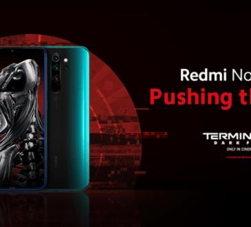 Redmi Note 8 Pro e Terminator Destino Oscuro