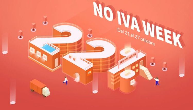 Xiaomi Italia NO IVA WEEK