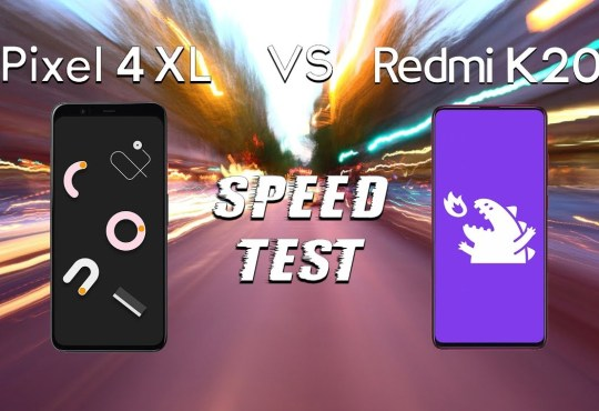 speedtest Redmi K20 Pro vs Google Pixel 4 XL