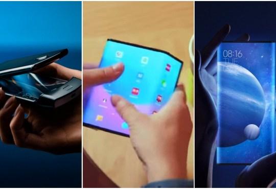 Moto Razr vs Xiaomi Mi Fold vs Mi MIX Alpha