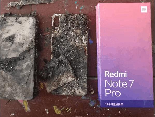 Redmi Note 7 Pro in fiamme (1)