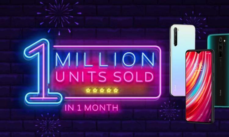 Redmi Note 8 vendite superano il milione in India