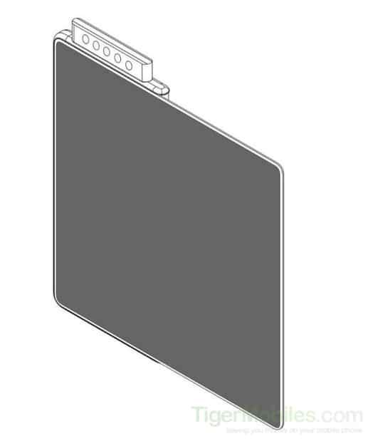 smartphone flessibile Xiaomi 5 fotocamere pop-up