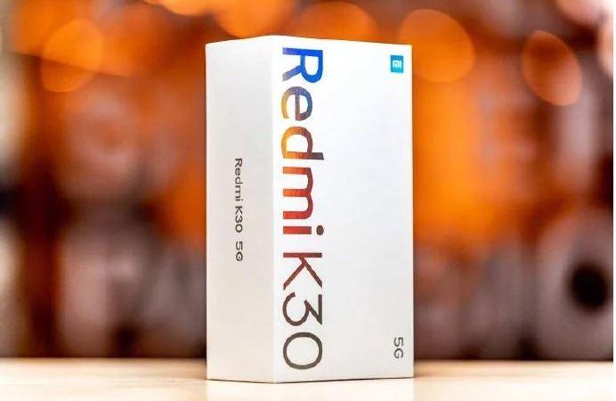 Redmi K30 5G confezione di vendita