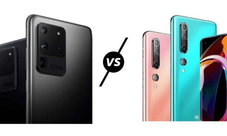 Xiaomi Mi 10 Pro vs Samsung Galaxy S20 Ultra