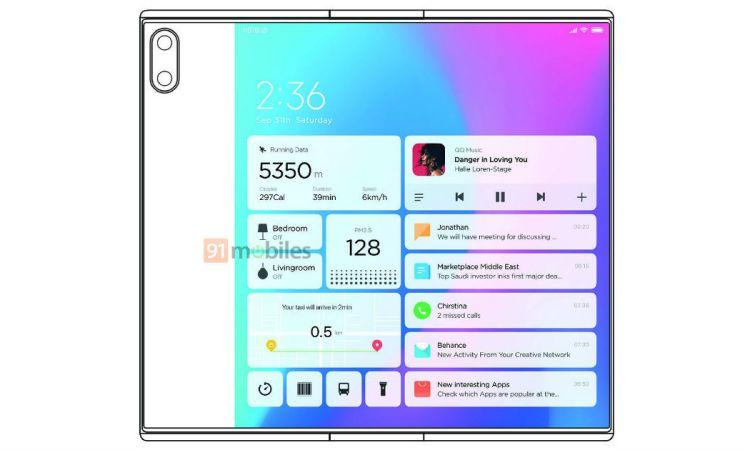 Xiaomi Mi MIX Fold brevetto